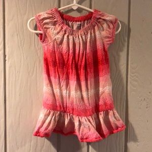 Girls Pink Gap Tunic in Size 18-24 months